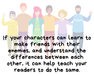 Creative Writing Fo Kids - Writing Enemies To Friends