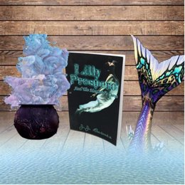 Lilly Prospero And The Mermaid's Curse Witchcraft Mermaids Ocean book art JJ Barnes