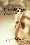 Emerald Wren And The Coven Of Seven by JJ Barnes, Emerald Wren And The Coven Of Seven by J.J. Barnes, Emerald Wren, Emerald Wren book, JJ Barnes, J.J. Barnes, Siren Stories, Books by JJ Barnes